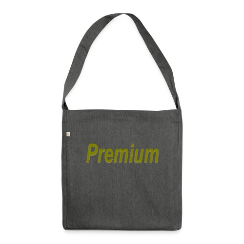 Premium - Shoulder Bag made from recycled material
