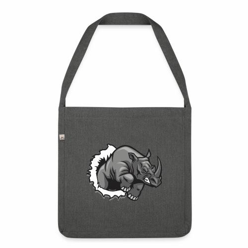 Méchant rhinocéros - Sac bandoulière 100 % recyclé