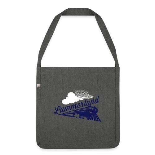 Logo_Lokomotive_Lummerlan - Schultertasche aus Recycling-Material