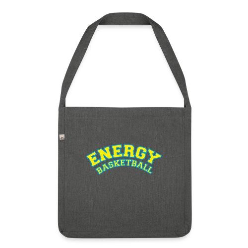 street wear logo giallo energy basketball - Borsa in materiale riciclato