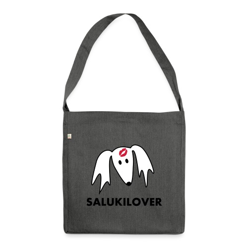Salukilover - Schultertasche aus Recycling-Material