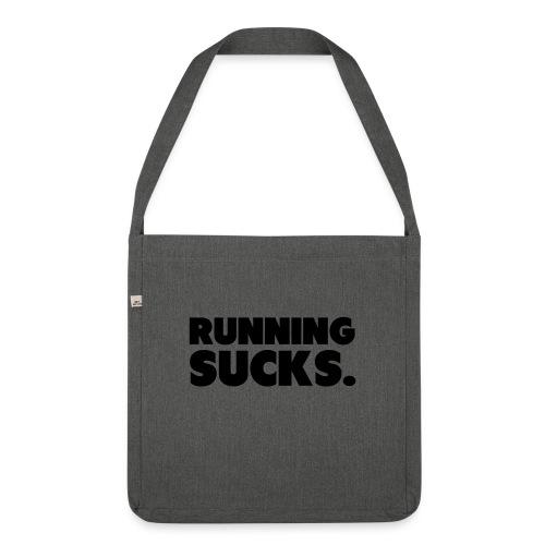 Running Sucks - Olkalaukku kierrätysmateriaalista