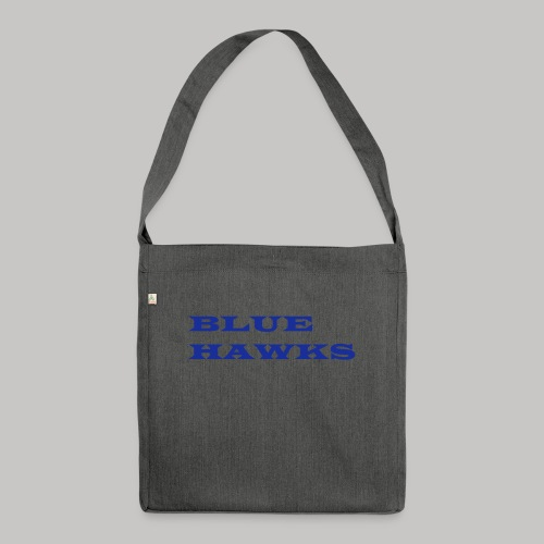 BlueHawks WideLatin twoli - Schultertasche aus Recycling-Material