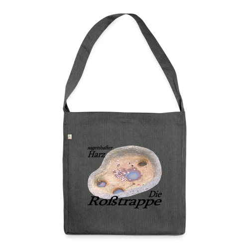 rosstrappe 3 - Schultertasche aus Recycling-Material