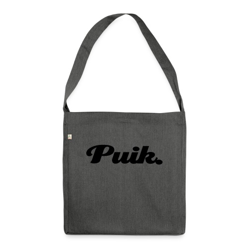 Puik. - Shoulder Bag made from recycled material