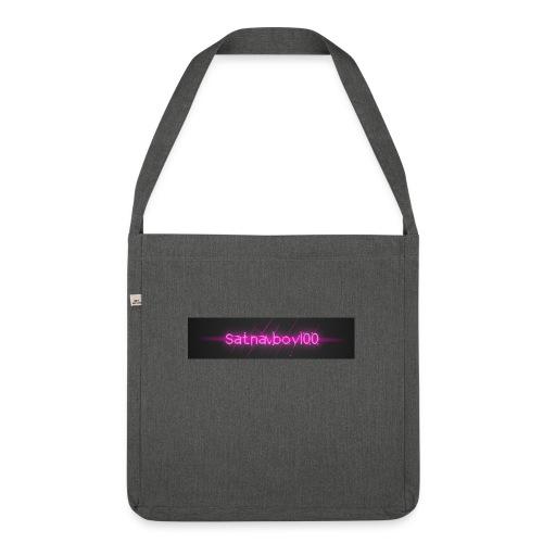 Satnavboy100 Shirt - Shoulder Bag made from recycled material