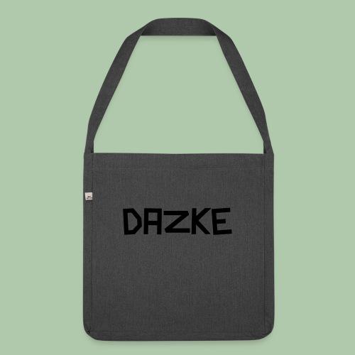 dazke_bunt - Schultertasche aus Recycling-Material