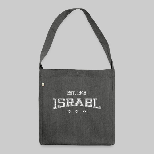 ISRAEL-white - Shoulder Bag made from recycled material