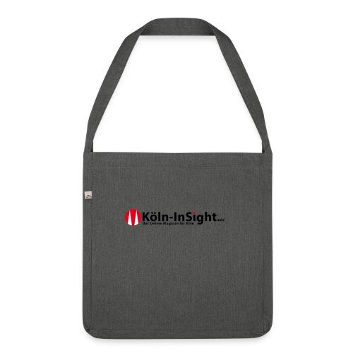 logo koelninsighttv - Schultertasche aus Recycling-Material