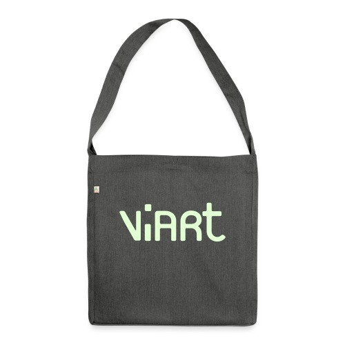 viart_logo_vect_2coul - Schultertasche aus Recycling-Material