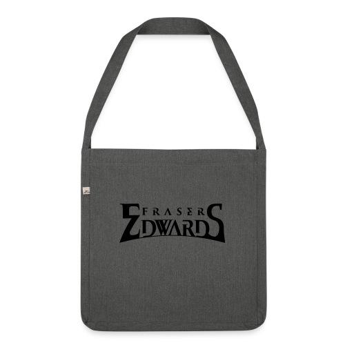 Fraser Edwards Men's Slim Fit T shirt - Shoulder Bag made from recycled material