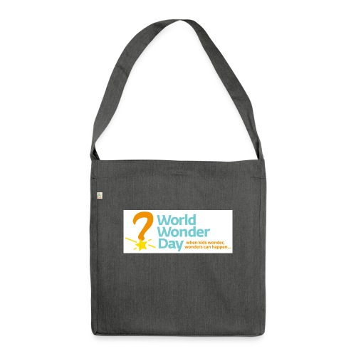 World Wonder Day - Shoulder Bag made from recycled material