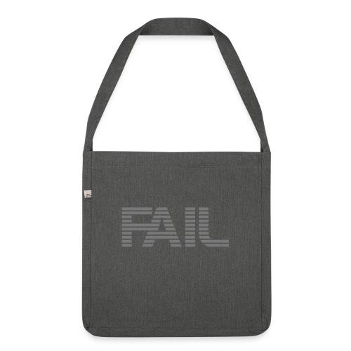 FAIL - Schultertasche aus Recycling-Material