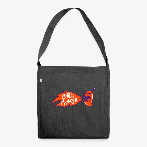 Chilli Monster - Shoulder Bag made from recycled material