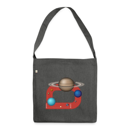 Orbit People - Schultertasche aus Recycling-Material