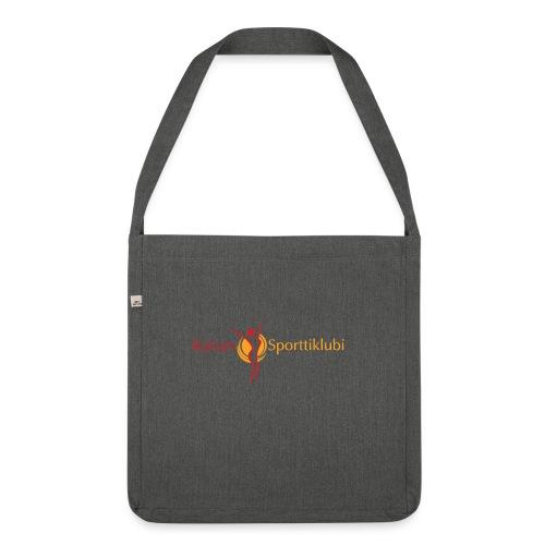 Kaisan Sporttiklubi logo - Olkalaukku kierrätysmateriaalista