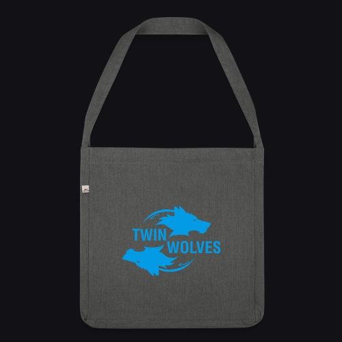 Twin Wolves Studio - Borsa in materiale riciclato