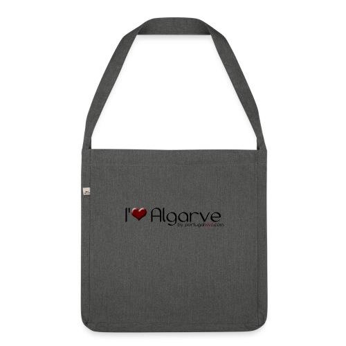 I Love Algarve - Sac bandoulière 100 % recyclé