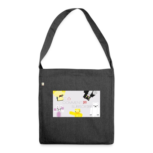 backgrounder (78) - Shoulder Bag made from recycled material