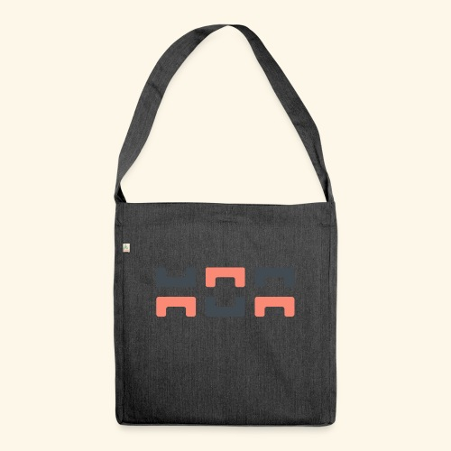 Bezier Elephant, by Hoa - Shoulder Bag made from recycled material