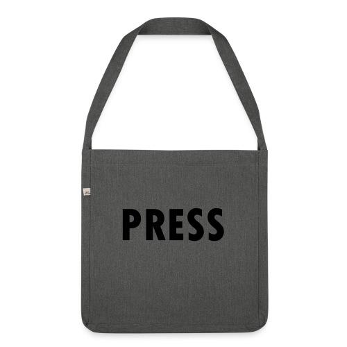 press - Schultertasche aus Recycling-Material