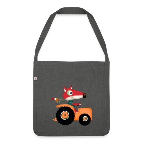 traktor - Schultertasche aus Recycling-Material