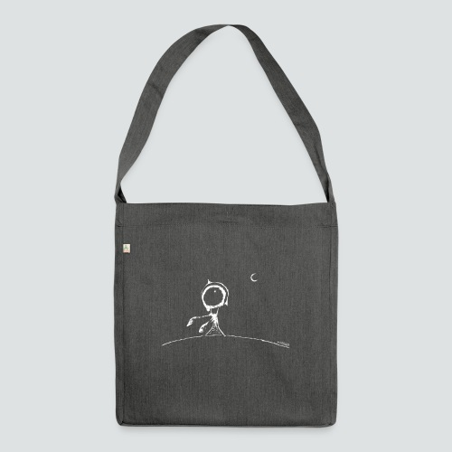 pflanze2 png - Schultertasche aus Recycling-Material