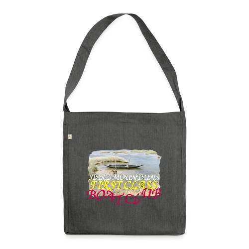 boat club 3 - Schultertasche aus Recycling-Material
