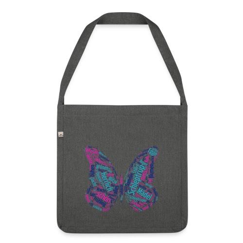 Schleptrup Schmetterling - Schultertasche aus Recycling-Material