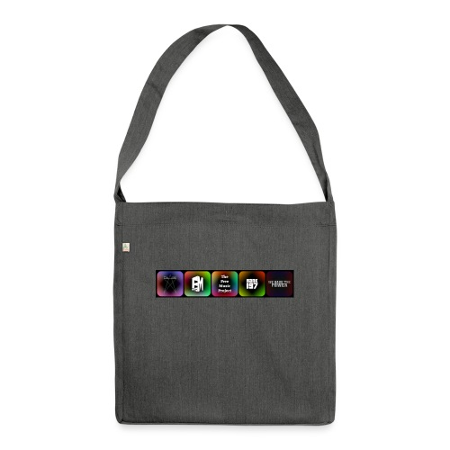 5 Logos - Shoulder Bag made from recycled material