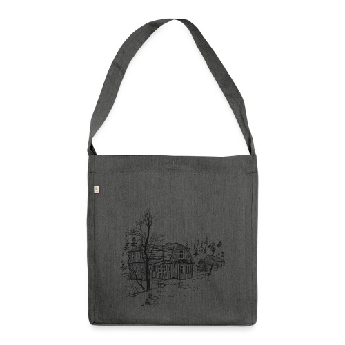 Countryside - Shoulder Bag made from recycled material