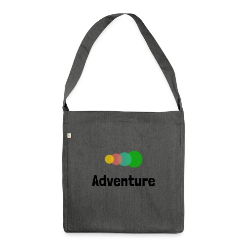 Pure Adventure - Shoulder Bag made from recycled material