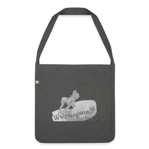 walpurgisnacht harz hexe 2 - Schultertasche aus Recycling-Material