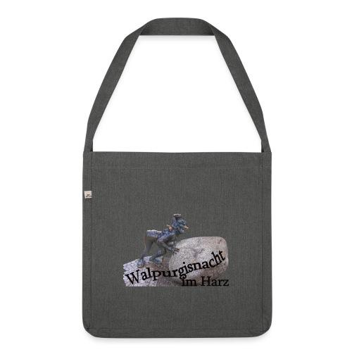 walpurgisnacht harz hexe 3 - Schultertasche aus Recycling-Material