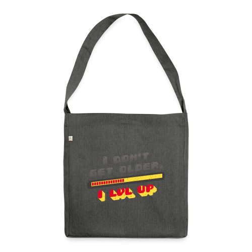Gamer Spruch - Shoulder Bag made from recycled material
