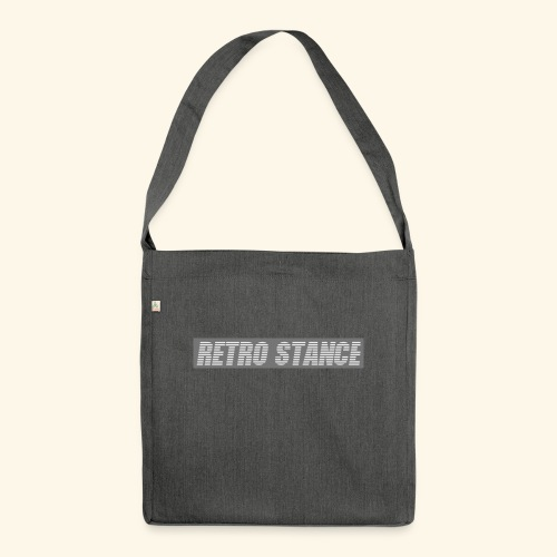 Retro Stance - Shoulder Bag made from recycled material