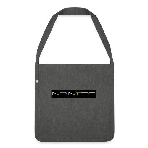 NanTes - Sac bandoulière 100 % recyclé