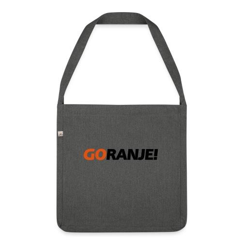 Go Ranje - Goranje - 2 kleuren - Schoudertas van gerecycled materiaal