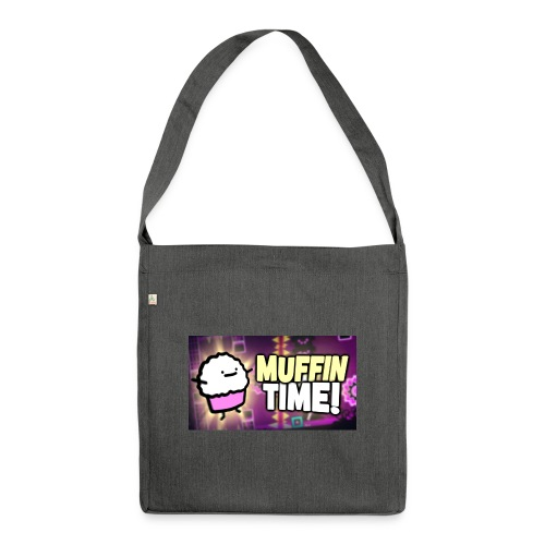Its Muffin Time 2 - Schultertasche aus Recycling-Material