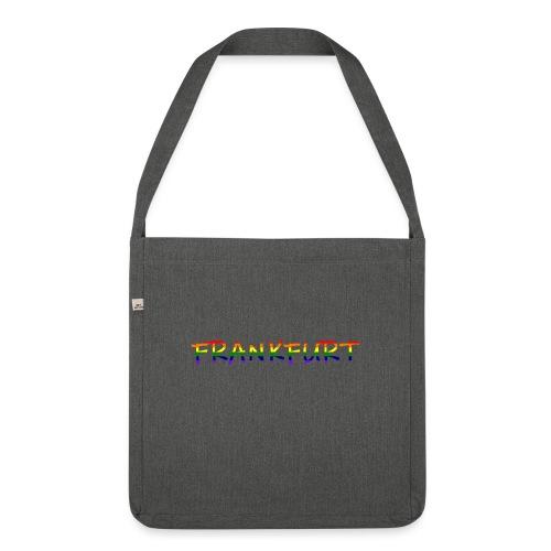 Frankfurt Rainbow #1 - Schultertasche aus Recycling-Material