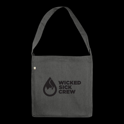 Wicked Sick Crew Tropfen schwarz - Schultertasche aus Recycling-Material