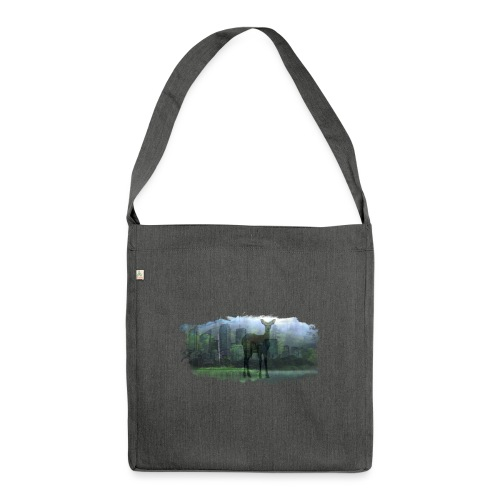 Nature in the City - Shoulder Bag made from recycled material