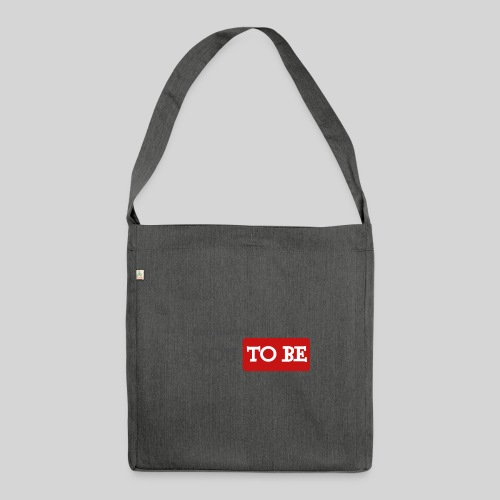 God wants you to be saved Johannes 3,16 - Schultertasche aus Recycling-Material
