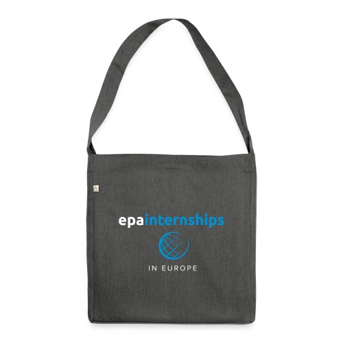 EPA Logo White - Shoulder Bag made from recycled material