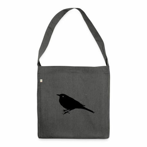 Amsel Logo - Schultertasche aus Recycling-Material
