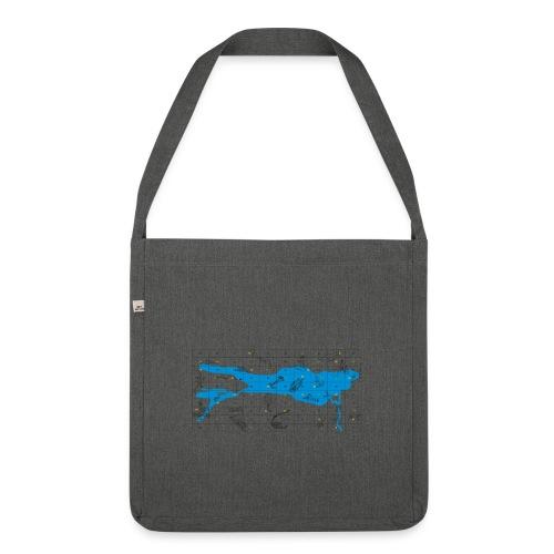 Bodensee Leiterlispiel - Schultertasche aus Recycling-Material