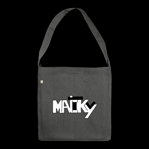 MaickyTv - Schultertasche aus Recycling-Material