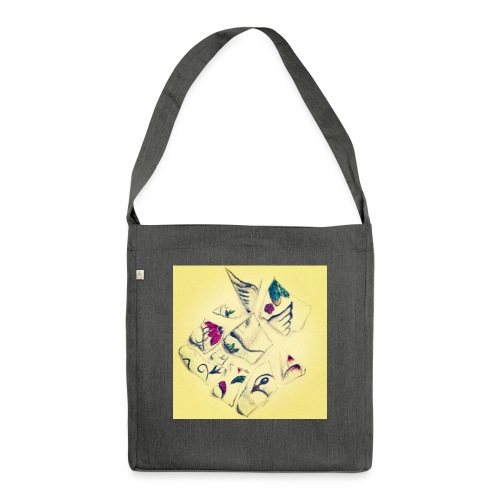 Pigeon - Schultertasche aus Recycling-Material