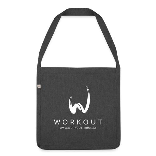 Workout mit Url - Schultertasche aus Recycling-Material