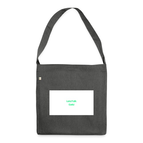 LetsTalk ColU - Shoulder Bag made from recycled material
